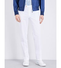 Brioni Megeve Regular Fit Straight Jeans White