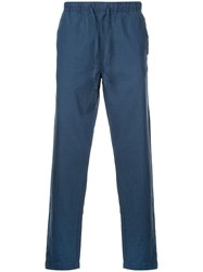 Onia Relaxed Fit Carter Trousers Blue