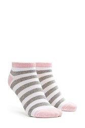 Forever 21 Stripe Patterned Ankle Socks