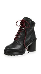 Marc Jacobs Crosby Hiking Boots Black