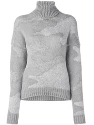 08Sircus Camouflage Jumper Grey