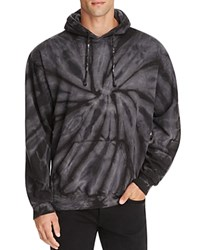 Ovadia And Sons Tie Dye Pullover Hoodie Black