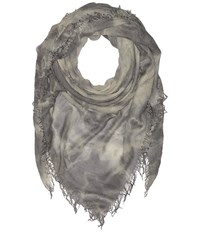 Chan Luu Tie Dye Cashmere Scarf Griffin Eggshell Scarves Gray