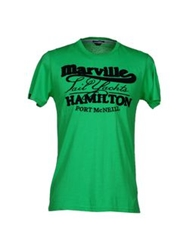 Marville T Shirts Green