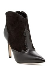 Sam Edelman Bradley Pointed Toe Heeled Bootie Black
