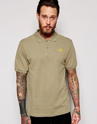 The North Face Polo Shirt With Logo Moss Green