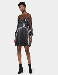 Delfi Collective Katia Dress Silver