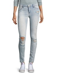 Blank Nyc Distressed Jeggings Grey