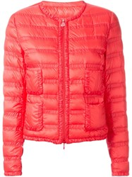 Moncler Padded Jacket Red