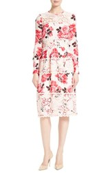 Kate Spade Women's New York Rosa Lace Applique Midi Dress