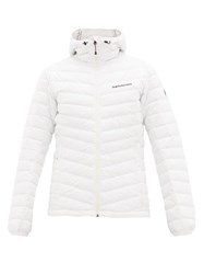 Peak Performance Frost Quilted Down Jacket White