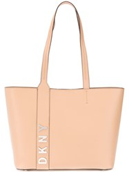 Dkny Bedford Large Tote Bag Neutrals