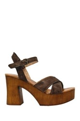 Musse And Cloud Miley Chunky Platform Sandal Brown