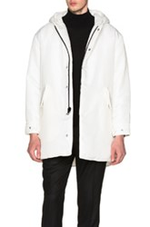 Patrik Ervell Insulated Parka In White