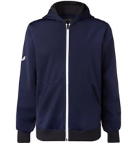 Castore Espin Stretch Tech Jersey Hooded Jacket Blue