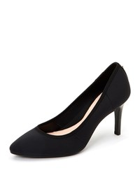 Taryn Rose Tess Neoprene Point Toe Pumps Black