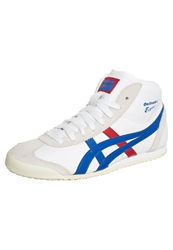 Onitsuka Tiger By Asics Onitsuka Tiger Mexico Mid Runner Hightop Trainers White Daphne