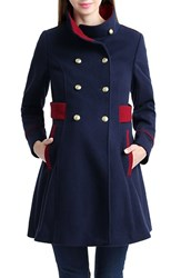 Kimi And Kai Women's Nom 'Pan' Military Maternity Pea Coat