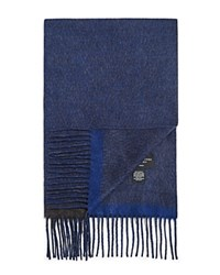 Bloomingdale's The Men's Store At Optical Scarf Charcoal Blue
