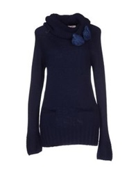 Blugirl Folies Turtlenecks Dark Blue