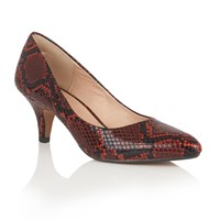 Lotus Bakula Animal Print Courts Red