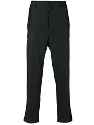 Mauro Grifoni Tailored Fitted Trousers Grey
