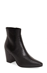 Saint Laurent Pointy Toe Ankle Boot Women Black Leather
