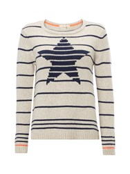 White Stuff Starlight Jumper Mid Grey