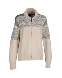 Henry Cotton's Knitwear Cardigans Men Beige