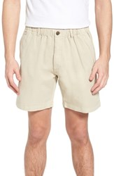 Vintage 1946 7In Snappers Elastic Waist Shorts Stone
