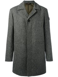 Moncler 'Anthony' Buttoned Coat Green