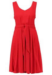 Louche Kiara Cocktail Dress Party Dress Red
