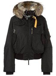 Parajumpers Hooded Puffer Jacket Black