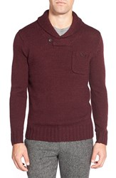 Men's Bonobos Shawl Collar Pullover Sweater