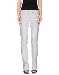 Dolce And Gabbana Denim Denim Trousers Women White