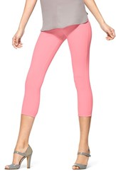 Women's Hue 'Super Smooth' Denim Capri Leggings Peony