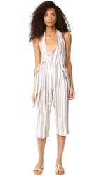 Solid And Striped The Camille Jumpsuit Multi Stripe