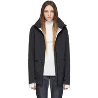 Canada Goose Black Pacifica Raincoat