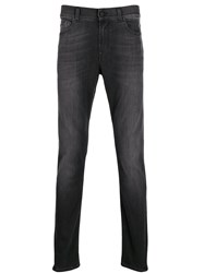 7 For All Mankind Ronnie Tapered Jeans Black