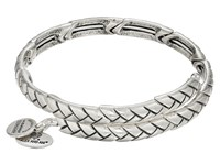 Alex And Ani Nature's Weave Wrap Bracelet Rafaelian Silver Bracelet