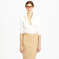 J.Crew Three Quarter Sleeve Stretch Perfect Shirt