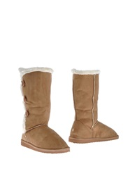 Renato Balestra Boots Camel