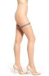 Women's Wolford 'Leah' Stripe Sheer Tights