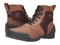 Sorel Ankeny Mid Hiker Ripstop Grizzly Bear Hickory Men's Lace Up Boots Brown