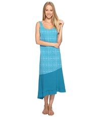 Fresh Produce Serengeti Windfall Dress Teal Women's Dress Blue