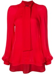 Haney Diane Blouse Red