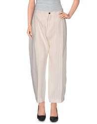 Trou Aux Biches Trousers Casual Trousers Women Ivory