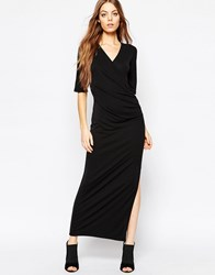 Selected Lulu Maxi Dress Black