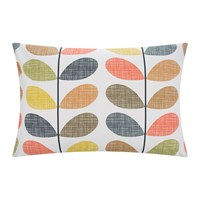 Orla Kiely Scribble Stem Pillowcase Multi Set Of 2