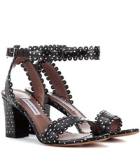 Tabitha Simmons Leticia Leather Sandals Black